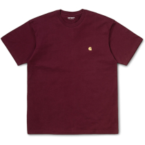 Achat S/S Chase T-Shirt Loose Bordeaux / Gold