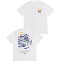 Acquisto S/S Mountain T-Shirt White