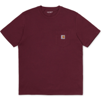 Kauf S/S Pocket T-Shirt Regular Bordeaux