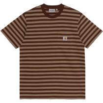 Acquisto S/S Scotty Pocket T-Shirt Scotty Stripe, Offroad Tanami