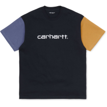 Acquisto S/S Carhartt Tricol T-Shirt Loose Dark Navy