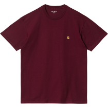 Achat S/S Chase T-Shirt Jam Gold