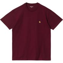 Buy S/S Chase T-Shirt Jam Gold