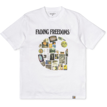Buy S/S Fading T-Shirt White