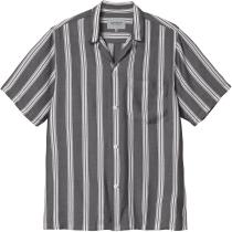Buy S/S Foley Shirt Foley Stripe, Black