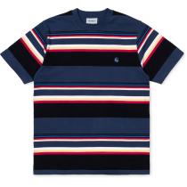 Achat S/S Sunder T-Shirt Sunder Stripe, Blue / Blue