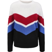Achat Schtreifebogeli knitted sweater Red/Blue/White