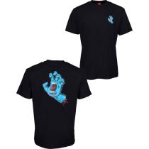 Acquisto Screaming Hand Chest T-Shirt Black