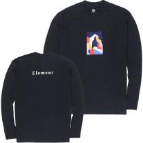 Buy Sd LS Tee Flint Black