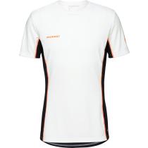 Achat Sertig T-Shirt Men White Black Vibrant Orange