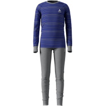 Achat Set Active Warm Enfant Grey Melange/Clematis Blue/Stripes
