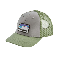 Compra Shop Sticker Patch LoPro Trucker Hat Drifter Grey w/Matcha Green