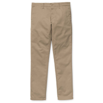 Buy Sid Pant Lamar Twill Leather Rinsed