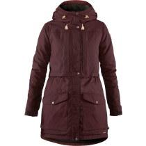 Buy Singi Wool Padded Parka W Dark Garnet