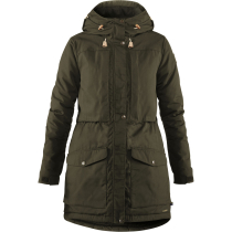 Kauf Singi Wool Padded Parka W Deep Forest