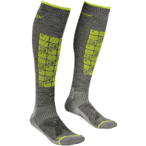 Acquisto Ski Compression Socks M Grey Blend