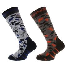 Acquisto Ski Socks Camo Brown