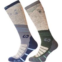Acquisto Ski Socks Mountain Grey