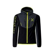 Acquisto Ski Style Hoody Jacket Nero/Giallo Fluo