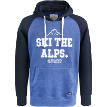 Buy Ski The Alps Hooded Sweater Olympian Blue