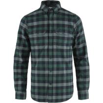 Buy Skog Shirt M Arctic Green-Dark Navy