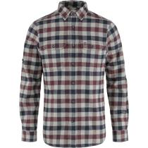 Buy Skog Shirt M Dark Garnet-Fog