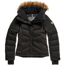 Buy Snow Luxe Puffer W Black