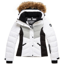 Buy Snow Luxe Puffer W White