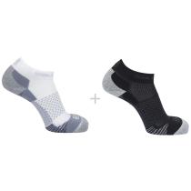 Achat Socks Cross 2-Pack White/Black