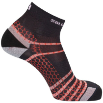 Buy Socks NSO Mid Run White/Racing Red