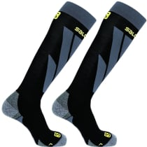 Buy Socks S/Access 2-Pack-Black-Black-Co