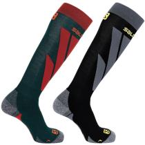 Buy Socks S/Access 2-Pack Green Gables/Black