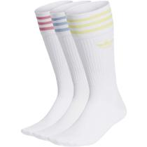 Buy Solid Crew Sock White/Pulyel/Roston/Ambsk