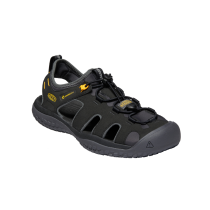 Buy Solr Sandal Black/Gold