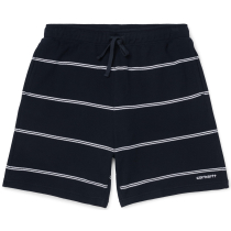 Achat Spacer Sweat Short Spacer Stripe, Dark Navy / White