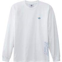 Achat Speed G LS Tee White/Sonic Aqua