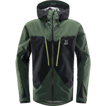 Acquisto Spitz Jacket Men True Black/Fjell Green
