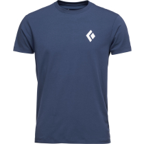 Buy SS Equipment For Alpinist Tee M Ink Blue