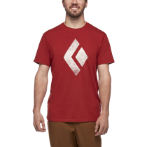 Kauf SS Chalked Up Tee M Red Rock