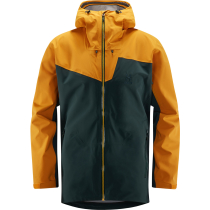 Achat Stipe Jacket Men Mineral/Desert Yellow