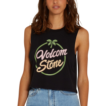 Buy Stone Hour Crop Tank W Black