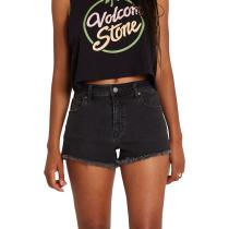 Buy Stoney Stretch Short W Asphalt Black