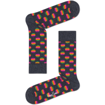 Buy Sunrise Dot Sock Crew Grey