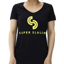 Kauf Super T-Shirt Noir Femme