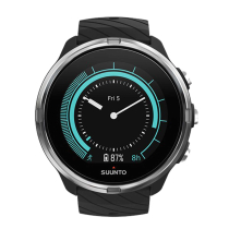Achat Suunto 9 G1 Black + Black Leather Strap