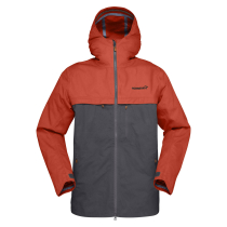 Buy Svalbard Cotton Jacket M Rooibos Tea/Slate Grey