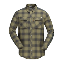 Acquisto Svalbard Flannel Shirt M's Olive Drab/Slate Grey