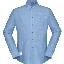Compra Svalbard Cotton Shirt M's Heritage Blue