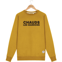 Acquisto Sweat Clyde CHAUD LES MARRONS Mustard