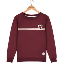 Achat Sweat Marlon HEART Burgundy